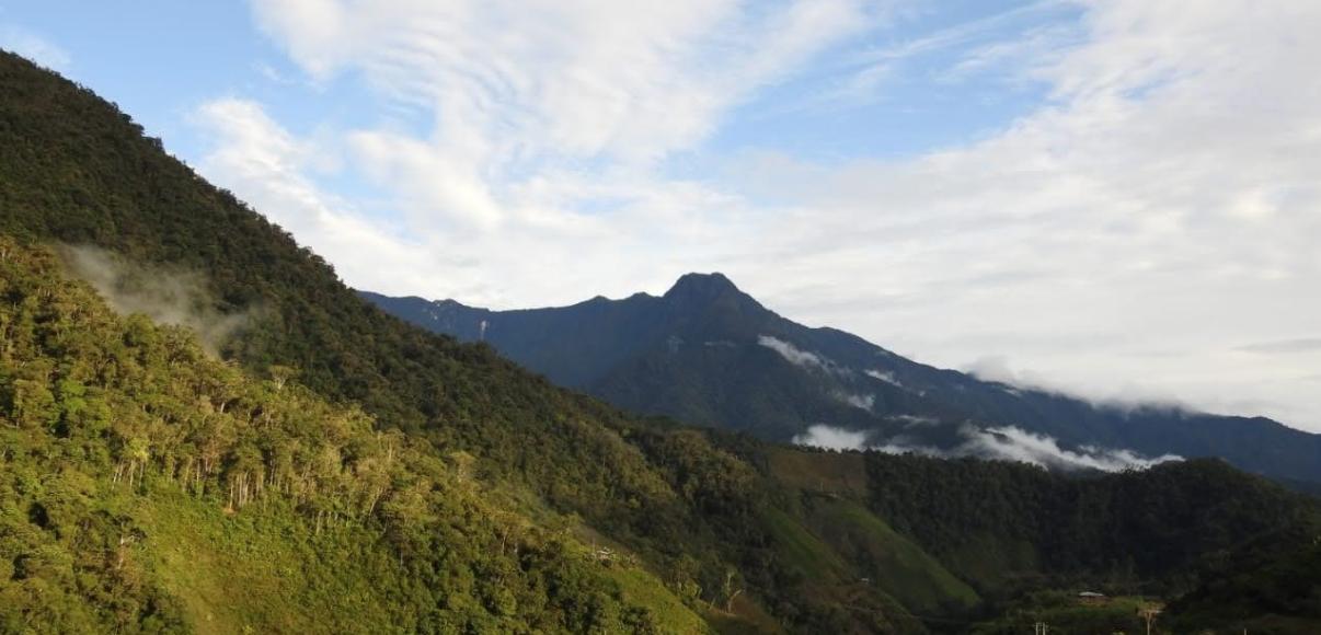 Hotspot Andes Tropicales paisaje en Colombia